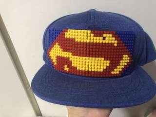 🚚 [二手]朋友送韓國購入兒童樂高相容棒球帽。