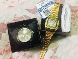 Original Casio Vintage+Geneva Watch