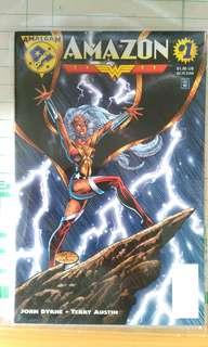 Amalgam Comics Amazon #1