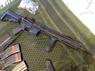 毒蛇 Viper tech KAC正刻 SR-16 E3 URX3.1 一槍4匣 (非 WE VFC GHK KWA M16 SCAR 1911 Marui glock m92 M4 LCT AK)