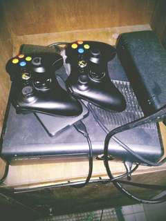 xbox 360 with tv 21 inci