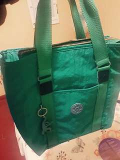 #kiplingbag in Turquoise color