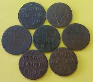 VOC COIN ( 7 PCS )
