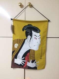 Japanese samurai man display