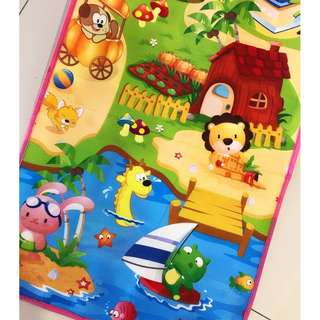 Animal Zoo Playmat