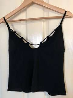 BRAND NEW BLACK CAMI TOP
