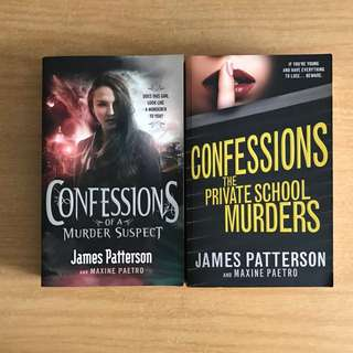 Confessions Series by James Patterson