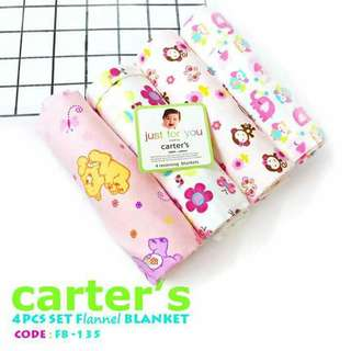 4PC SET FLANNEL BLANKET