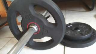 健身器材(槓鈴,槓片)