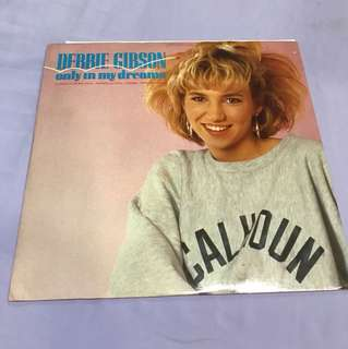 "Vinyl Record Debbie Gibson - Only In My Dream 12"" Single"