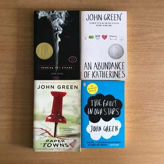 Assorted Young Adult Novels by John Green