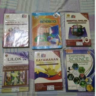 Grade 10 Books (St. Matthew College quality)