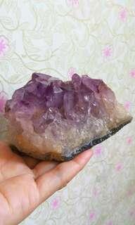 ⭐天然紫晶簇(Amethyst Cluster)(D036)