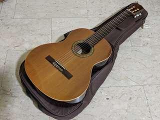 Almansa Modelo 401 Solid German Spruce Top Mahogany Back & Sides Spanish Nylon String Classical Guitar Spain
