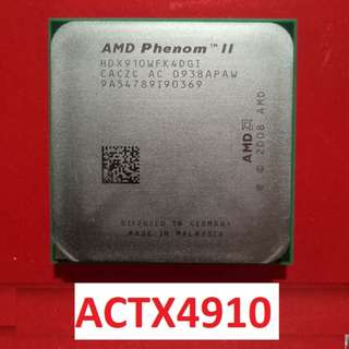 Processor for sale PHENOM II X4 910 with free cooling fan
