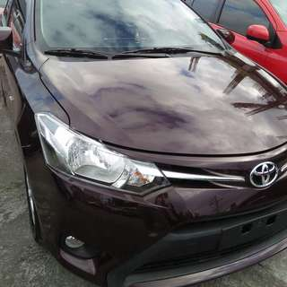 2017 Toyota Vios 1.3E Automatic For Rent