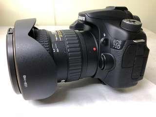 🚚 canon 70D+tokina 11-20mm 合售