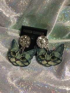 Korea Meow Meow Earring