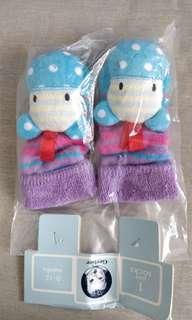 Gerber Baby Rattle Socks