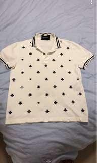 Gucci polo top size small men's