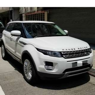 LAND ROVER  EVOQUE 2012