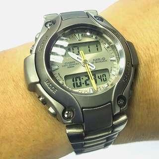 絕版 G-SHOCK MR.G - 130T 超輕鈦金屬手錶 (炒價$33-35K)