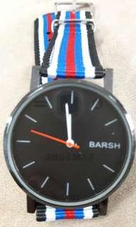 🚚 流行手錶瘋格獨特帆布風味