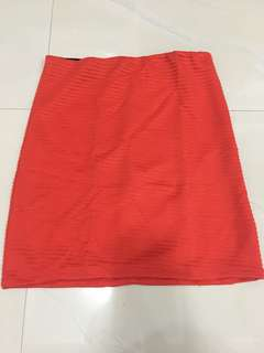 mini skirt with good condition