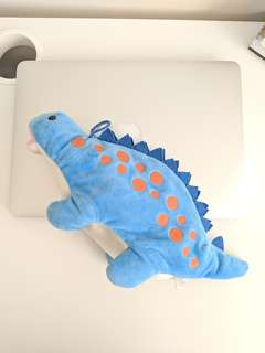Dinosaur Plush Pencil Case / Pouch