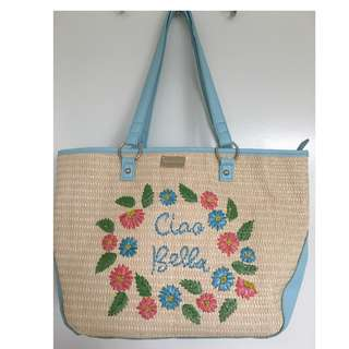 Forever New Blue Tote bag