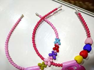 COLOURFUL BEADS HEADBAND FOR GIRLS !