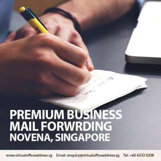 Business Mail Forwarding, Registered Mailing Business Address Singapore Novena