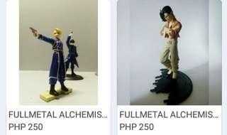 Fullmetal Alchemist Anime Figurines