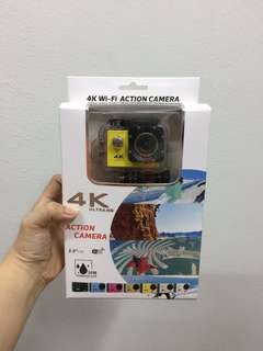 /NEW/ 4K Wi-Fi Action Camera
