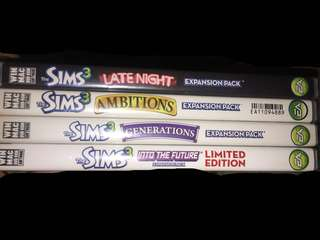 Sims 3 Expansion packs FAST SELL