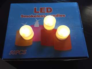 LED smokeless candles