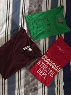 Tshirt Bundle H&M,Aero
