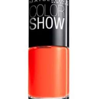 Maybelline New York Color Show Nail Lacquer - Orange Fix (6ml)