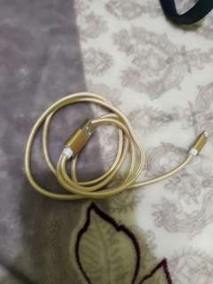 Iphone charger cord