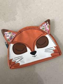 Typo Fox Pouch Wallet Purse