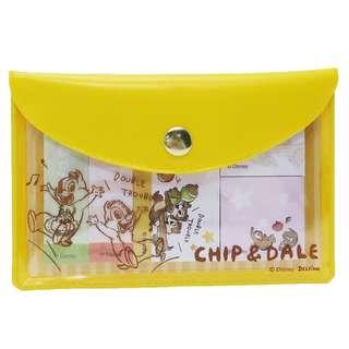 [現貨] 日本直送 Chip n Dale 鋼牙大鼻 Sticky Memo 便條紙 / 便利貼連 Pouch
