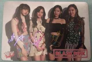 Black Pink團體彩簽