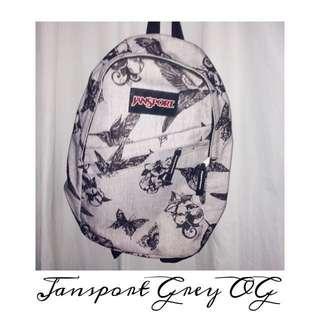 Authentic Jansport Grey