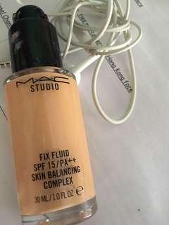 Mac studio fix fluid 無瑕粉底液