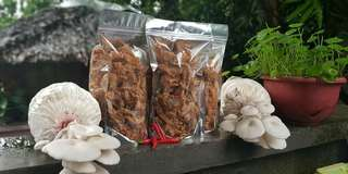 Mushrooms chicharon