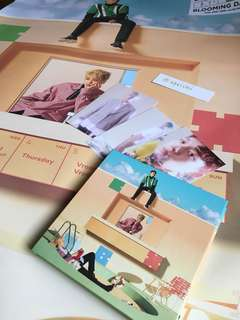 *Clearance* EXO-CBX Blooming Days no pc