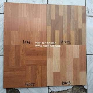Lantai vinyl tile borneo untuk lantai ruangan