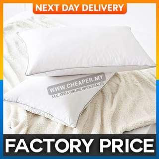 74x48cm 5 Star Hotel Pillow White Polyester Cotton Bedding Pillow Neck Health