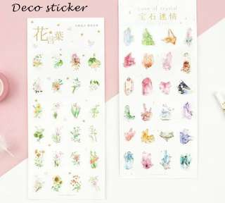 Floral Stickers🌷🌼