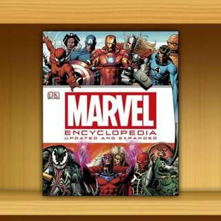BN - Marvel Encyclopedia ; Updated Edition [Hardcover] By DK